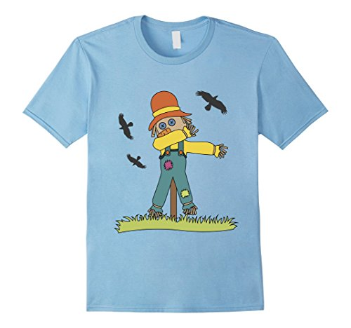 Dabbing Scarecrow with Crows