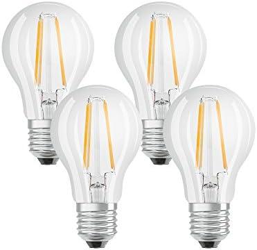 Osram 042889 Bombilla LED E27, 7 W, Blanco 7 Unidades
