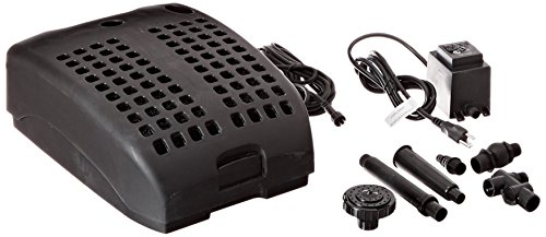 Algreen Products All-in-One Crystal Flow Pump with Pond Filtration and UV Clarifier