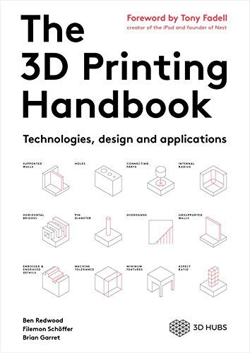 3D Printing Handbook Technologies applications product image