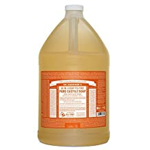 Dr. Bronner's Magic Soaps Fair Trade and Organic Castile Liquid Soap, Tea Tree 1 Gallon by Dr. Bronner's