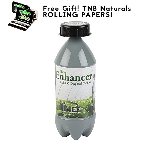 Natural Co2 Generator - TNB Naturals The Enhancer CO2 Dispersal Canister with Free TNB Rolling Papers!
