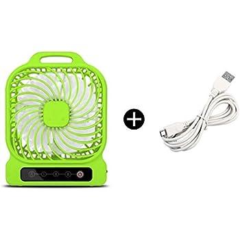 Queind Portable Mini USB Fan Table Desktop Personal Fan Cooling Fan for Home Office Personal Fans
