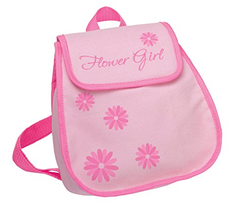 Flower Girl Bags - Lillian Rose Flower Girl Backpack Bag Keepsake Gift