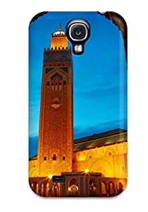 New Arrival Hassan Ii Mosque GseundJ3670SGNfx Case Cover/ S4 Galaxy Case