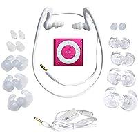 Underwater Audio- Waterproof iPod Shuffle, HydroActive Headphone Bundle (Hot Pink)