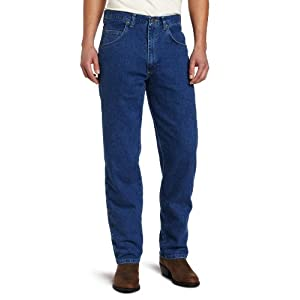 Wrangler Men's Big & Tall Rugged Wear Mechanical Stretch Relaxed-Fit Jean