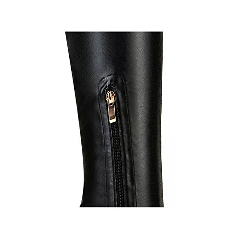 wdjjjnnnv Winter Boots/women's Stretch Pointy Stiletto Fine with Knee High Boots 39 6lT4Oy