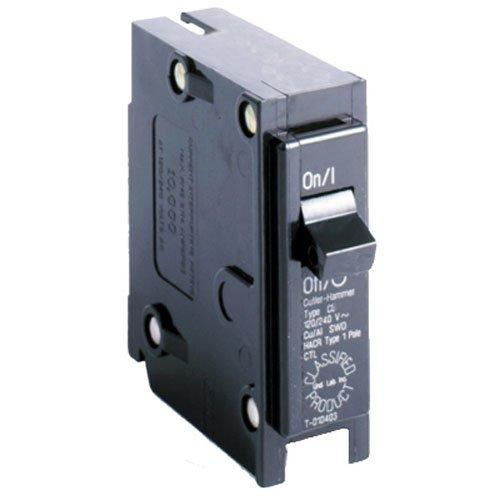 Eaton Corporation CL120CS Single Pole Ul Classified Replacement Breaker, 120V, 20-Amp