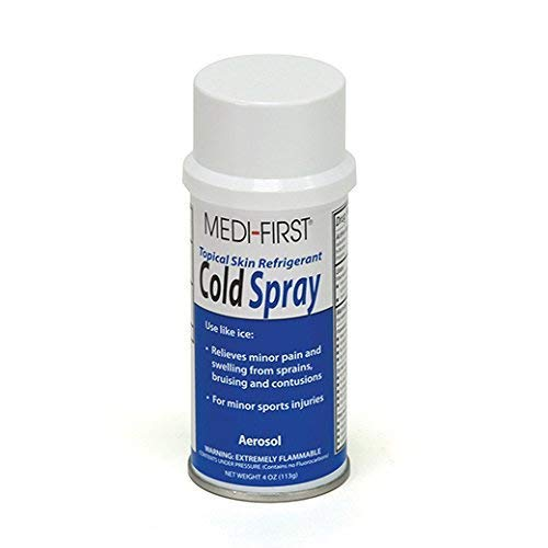 - Aerosol Cold Spray Can Topical Pain Relief 1 Case (12 Cans) by Medique - MS60915