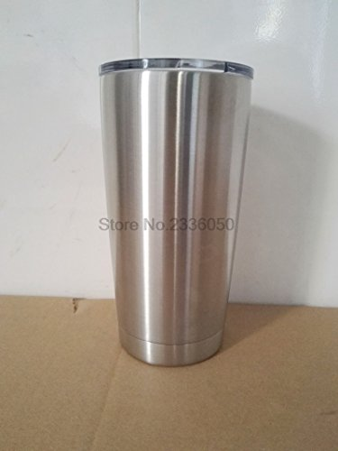 Bilayer Stainless Steel Insulation Cup 20OZ Cups Cars Beer Mug Large Capacity Mug Tumblerful by vMallSG