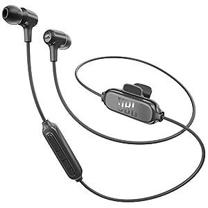 JBL E25 BT – Fone de ouvido in-ear sem fio, Bluetooth, preto
