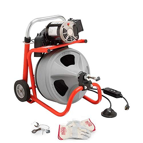 Ridgid 26993 K-400 115Volt Drum Machine with 3/8-inch by 50-foot C31 Integral Wound Cable by Ridgid