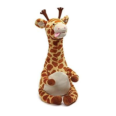 Gund Baby GUND Twisty Tongue Twister Giraffe Animated Stuffed Animal, Multi