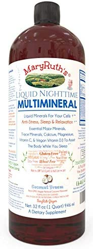 Multimineral Vitamins Magnesium Relaxation Melatonin