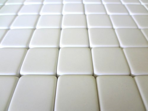 Custom Dice - Nakimo 16MM Blank White Dice for Board Games, DIY, Fun, and Teaching, Pack of 50