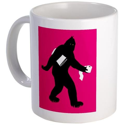 Bigfoot Surprised Mug