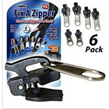 Rainbow Love 6 Pack Fix A Zipper Rescue Kit-Outdoor (Black)