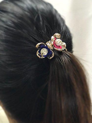 Pack of 3 pcs Baby Girl's Teen Black Elastic Hair bands Hair Hoops Ponytail Headbands :H12 (Band-2)