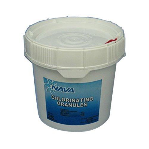 Nava Chlorinating Di-Chlor Granules - 25 lb. Bucket (Chlor Pool Shock)