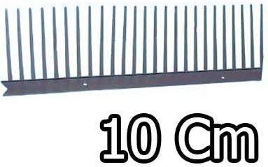 PEIGNE GRILLE CLOSOIR STOP PIAFS PARE MOINEAU en polypropyle 10x100 Noir