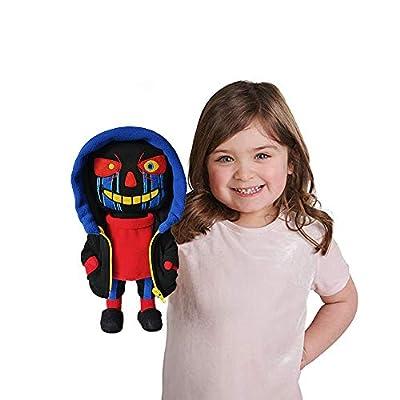 JSVDE Plush Stuffed Toy AUndertale Errortale Sans Papyrus Doll Toys Pillow Figure Children Gift (Errortale Sans): Toys & Games
