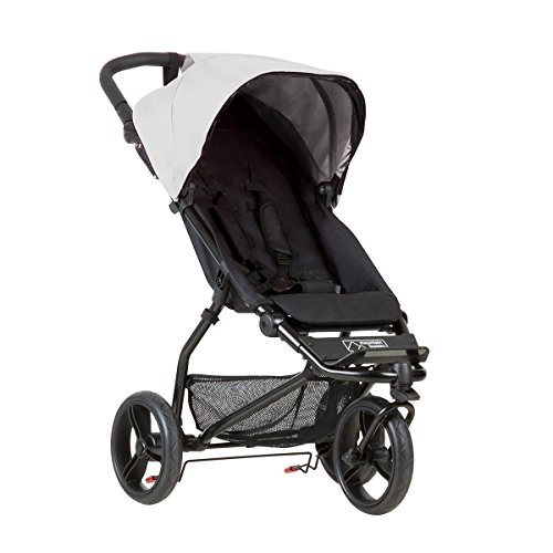 Mountain Buggy Mini V3.1 Stroller, Silver ()