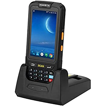 Amazon.com: MUNBYN 3G 4G Rugged Handheld Android 7.0 POS ...