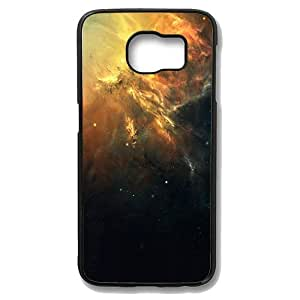 Samsung Galaxy S6 Edge Case - Space Galaxy Slim Bumper Case with Soft Flexible TPU Material for Samsung Galaxy S6 Edge Black