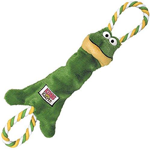 KONG Tugger Knots Frog Dog Toy, Small/Medium