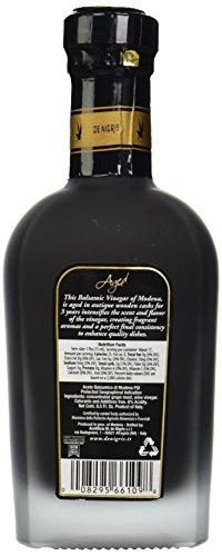 De Nigris Balsamic Vinegar, Aged, 8.5 oz 4 Natural or Organic Ingredients