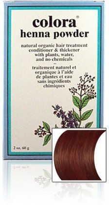Colora Henna Powder Hair Color Ash Brown 2oz (2 (Ash Powder)