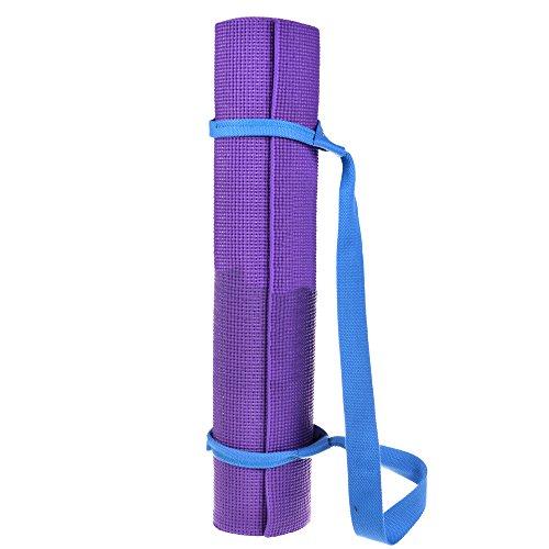 Cosmos® Blue Color Soft & Durable Cotton Yoga / Pilates Mat Harness Strap