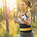 LED Fanny Pack-Iphone X Iphone 8 Plus -Iphone 5 Reflective Running Belt Travel Bag-Phone Holder Waterproof Bag-Workout Cell Phone Holder For Running-Women Packs and Pouch Cute Runner Accessories