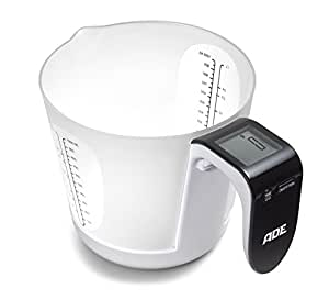 ADE Franca, Electronic Kitchen Scale, Black