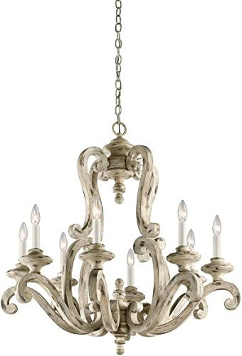 Kichler 43265DAW Eight Light Chandelier