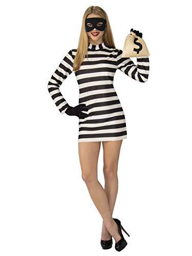 Rubie's Womens Burglar Costume]()