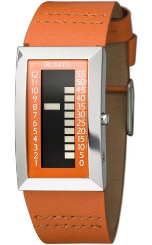 Rosato MATRIX VII PANDORA ORANGE, R612 - Reloj de mujer de cuarzo, correa de piel: Amazon.es: Relojes
