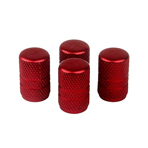 Red Motorcycle Tires - 8