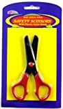 1pk - 5'' safety scissors 72 pcs sku# 1472514MA