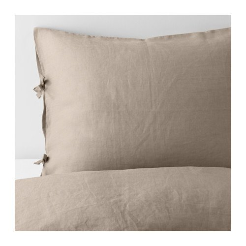 Amazing Duvet cover and pillowcase, natural