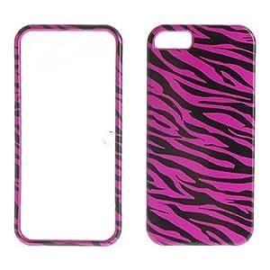 Leopardo estuche rígido impresión colores doble para el iphone 5/5s
