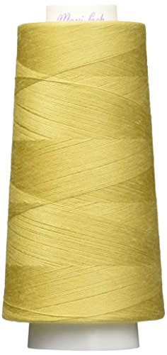 American & Efird 51-44640 Maxi-Lock Cone Thread, 3000-Yard, Straw Gold