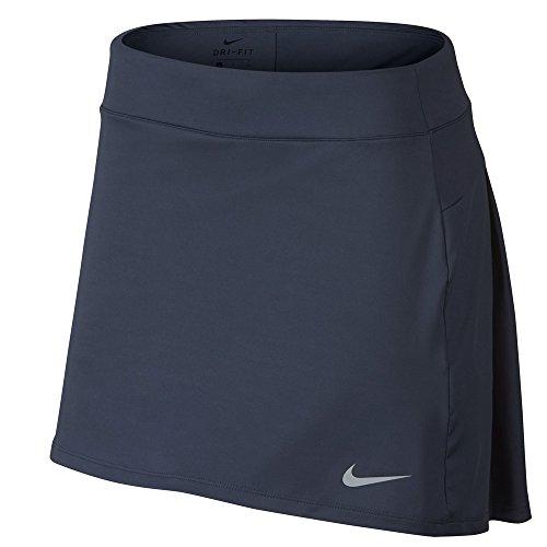 Knit Womens Nike Shorts - Nike Dri Fit Knit 15in Golf Skort 2018 Women Thunder Blue/Flat Silver Large