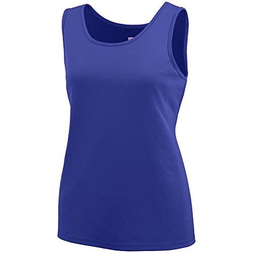 (Augusta Sportswear 1705 Women's Training Tank, Purple, Large)