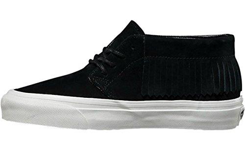 Vans Chukka Moc Dx Womens Maat 5.5 Suede Zwart Wit Van Witte Mode Schoenen