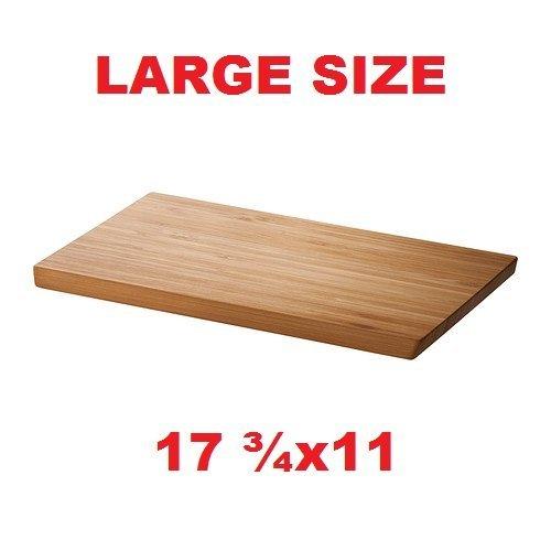 Ikea Bamboo Cutting Board 11 X 17.75