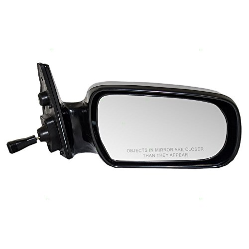 1991 Toyota Camry Mirror - Passengers Manual Remote Side View Mirror Replacement for Toyota 87910-32250 AutoAndArt