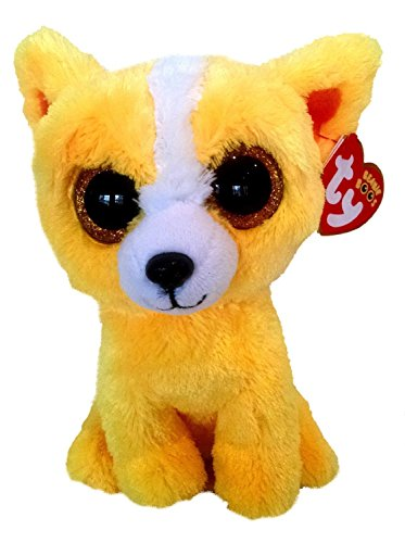 Ty Beanie Boos Dandelion Chihuahua Yellow Dog Plush (Ty Trade Show Exclusive)