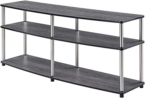 Convenience Concepts Designs2Go 3 Tier 60″ TV Stand
